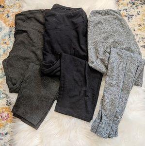 Bundle of 3 Well-Loved Leggings